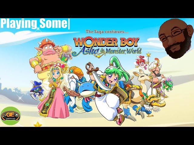Playing Some|: Wonder Boy Asha in Monster World (Nintendo Switch)