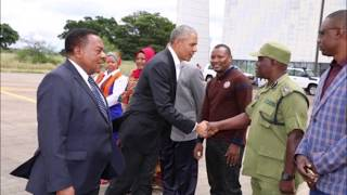 Obama's Secret Tz Stop Over Before He Came To Kenya 2018