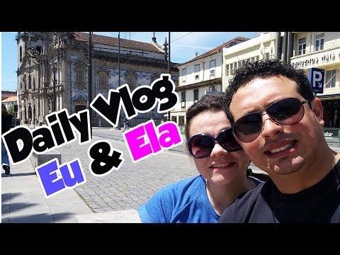 #2 Daily Vlog - Eu e Ela no Porto/Portugal