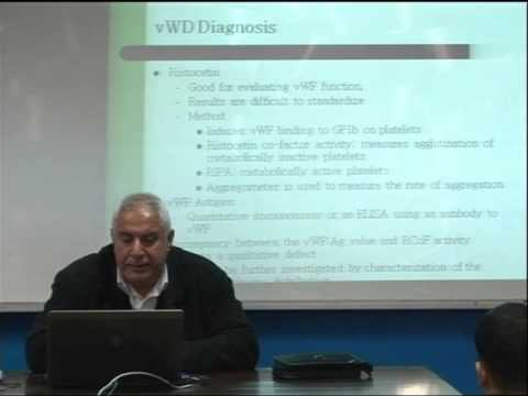 Lecture 13: Disorders of SeCondary tlemostasis-2