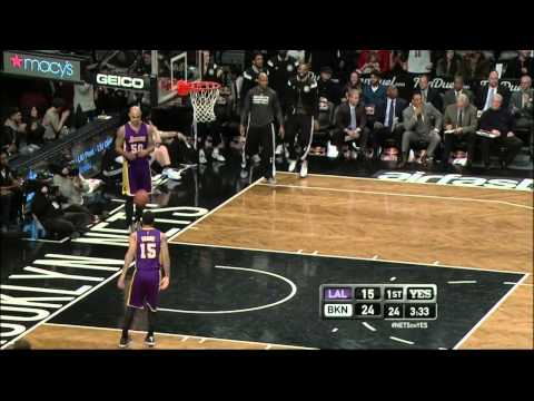 Markel Brown's big dunk against Lakers