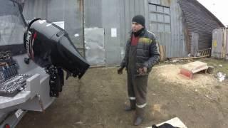 Орнату редукторы арналған қайық моторы Suzuki 90 ATL