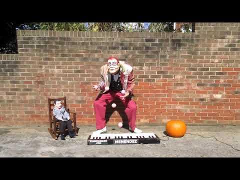 Strange Musical Juggler