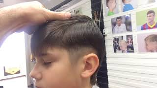 Детская стильная стрижка насадка 3 мм