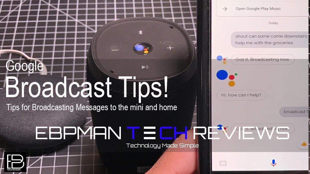 Google Home & Google Mini Broadcast Feature Explained ! Learn How to  broadcast?
