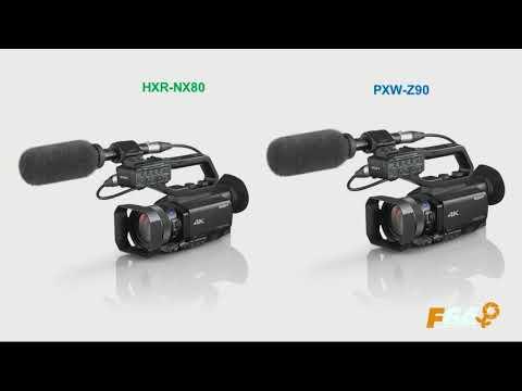 Prezentare SONY Z90 și HXR-NX80