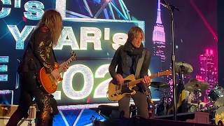 The Struts Jumpin' Jack Flash w/ Keith Urban (Live) Nashville New Years Eve 2020
