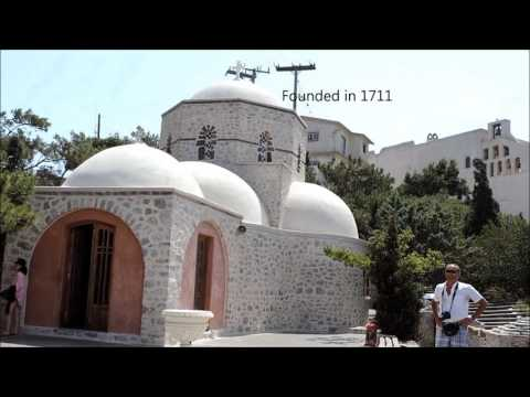 SANTORINI AND MYKONOS- WHITE AND BLUE   HD