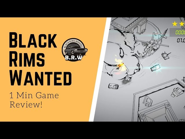 Mobile Game Review - Black Rims Wanted