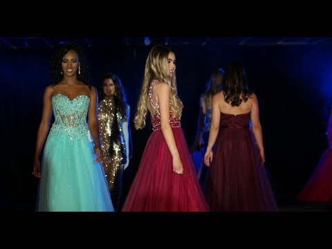 Miss Teenage Canada 2017 Finalists in Evening Gown