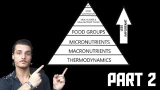 Nutritional Hierarchy - Macronutrients   Protein, Carbs, Fat