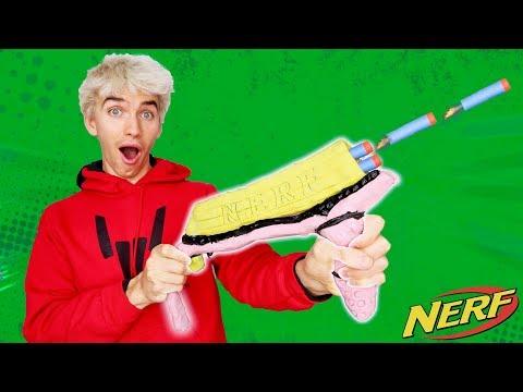 RUBBER NERF GUN MOD!!