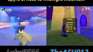 Spyro 3: Race to Midnight Mountain [4/5] - LukeRF44 vs TheAFH013 vs Rabid vs Fissure