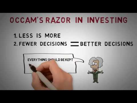 Investing lessons from Occam's Razor