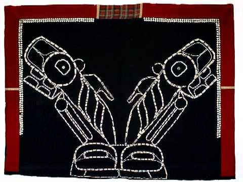 Haida Button Blanket
