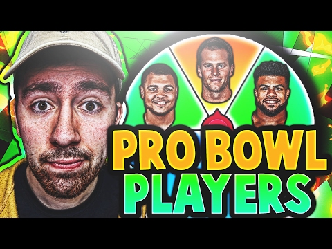 SPIN THE WHEEL OF PRO BOWL PLAYERS! MADDEN 17 SQUAD BUILDER