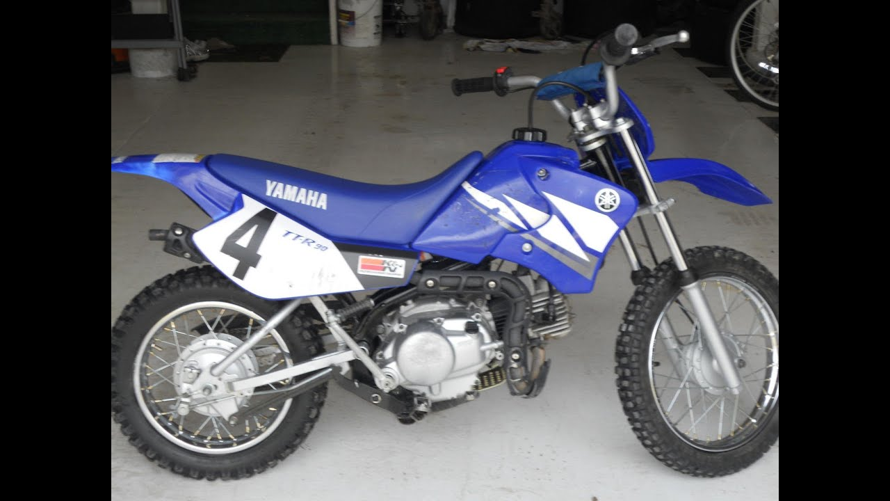 2003 yamaha ttr90 SOLD for     700     YouTube