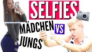 WENN JUNGS SELFIES MACHEN WÜRDEN WIE MÄDCHEN... | UfoneTV & Julia Beautx