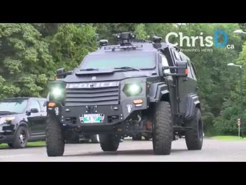 Winnipeg Police Armoured Rescue Vehicle - June 22, 2016 - Winnipeg, Manitoba