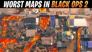 Top 10 WORST Black Ops 2 Maps in COD HISTORY | Chaos