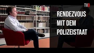 René Schlott   Corona-Krise darf nicht zu Polizeistaat führen!