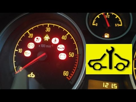 Spanner warning light? When does it come on? stay on? go off?