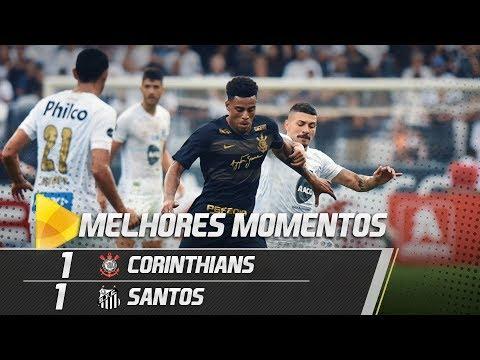 Corinthians 1 x 1 Santos | MELHORES MOMENTOS | Amistoso (13/01/19)