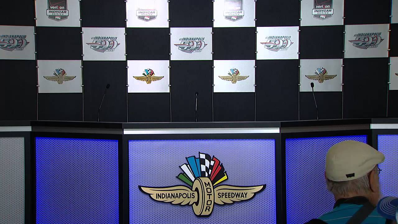 Jeff Gordon Press Conference From Indianapolis Motor Speedway ...