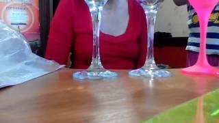 Свадебные бокалы в стиле японской культуры/HandMade_video