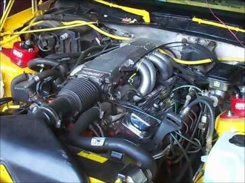 Vacuum lines on 87 Camaro IROCZ 350 TPI  YouTube