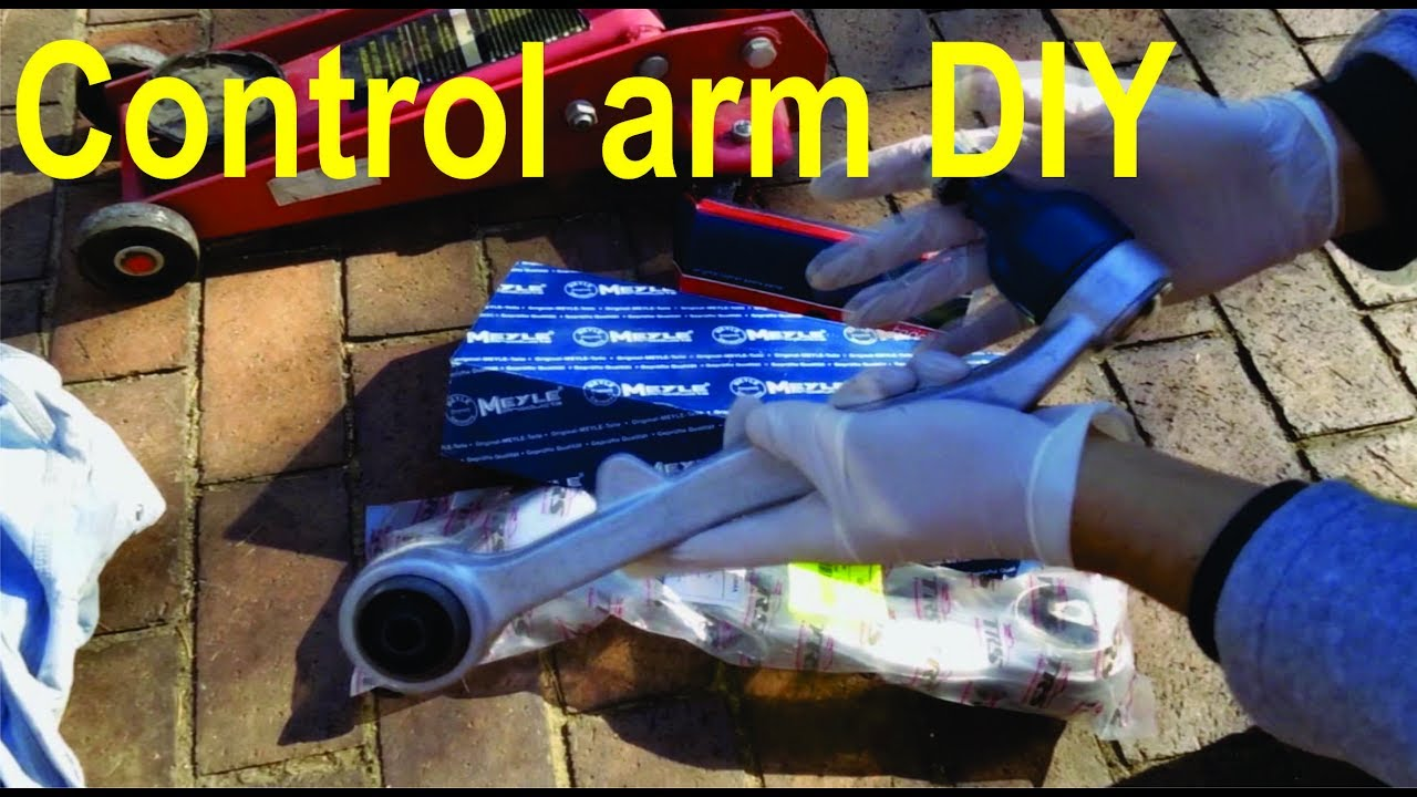 Replacing upper & lower control arms - detailed (BMW 5, 6, 7, X series)