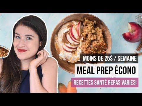 meal-prep-pas-cher-:-1-semaine-avec-25$!?-|-dÉfi-manger-santÉ-petit-budget