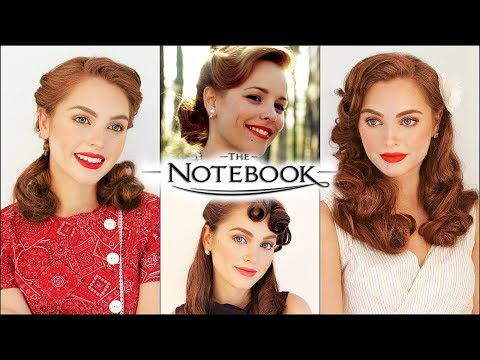 "allie hamilton ""the notebook"" vintage hairstyles 