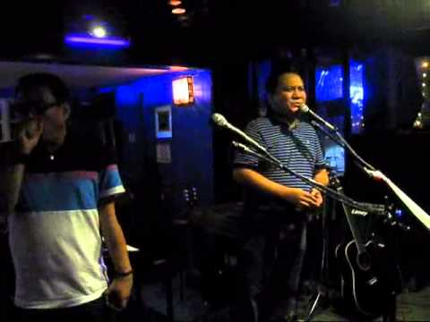 Jam at Pete's Place - July 4, 2014 - Richard and Marc's rare Karaoke moment