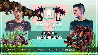 NEW THORS + MECH! Serral vs Marinelord Bo2 [ZvT] Homestory Cup XX Starcraft 2
