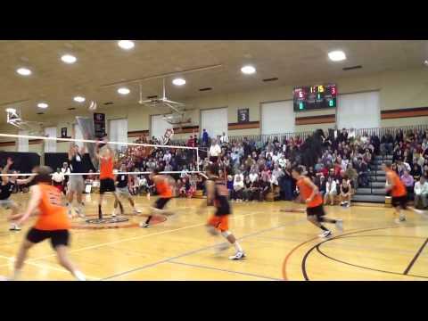Princeton University men's volleyball vs Penn State ...