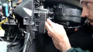 PEUGEOT 605. Cooler-uzuk ey o'zgartiring. Idishni ichiga antifreeze bir oqish aniqlash.