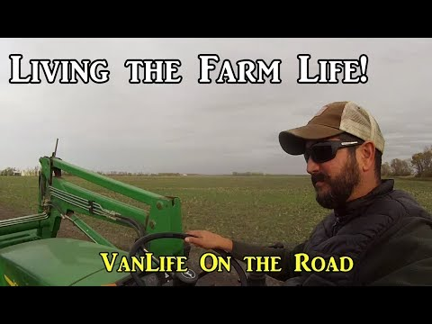Harvest is Over! - North Dakota - VanLife On the Road