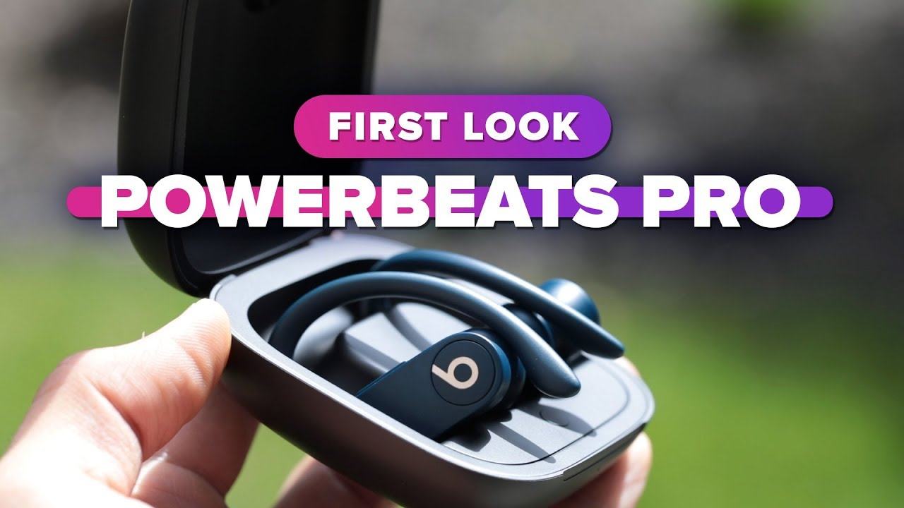 Trying out Beats' fully wireless Powerbeats Pro