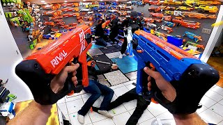 NERF GUN ARSENAL ATTACK! (First Person Arsenal Update!)