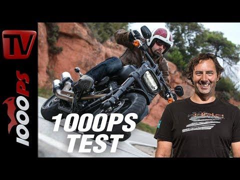 1000PS Test - Harley-Davidson Softail 2018 - die Eisenhaufen werden sportlich!