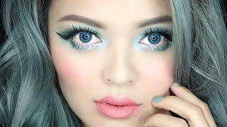 New Year's Eve Makeup Tutorial aka Green Eyes Makeup Hi everyone, w...