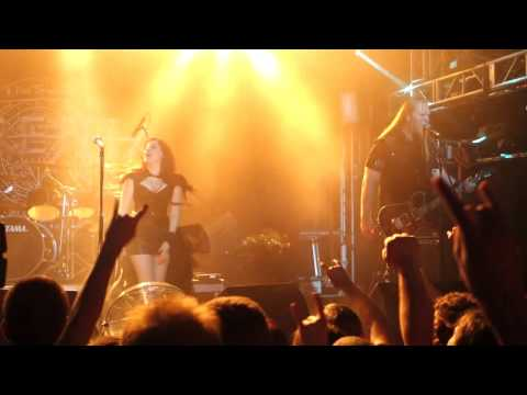 Sirenia - Meridian (live in Moscow 2015)
