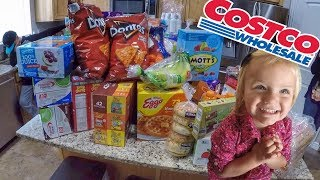 HUGE COSTCO HAUL 💸 HOW MUCH DOES IT COST TO FEED A BIG FAMILY?!