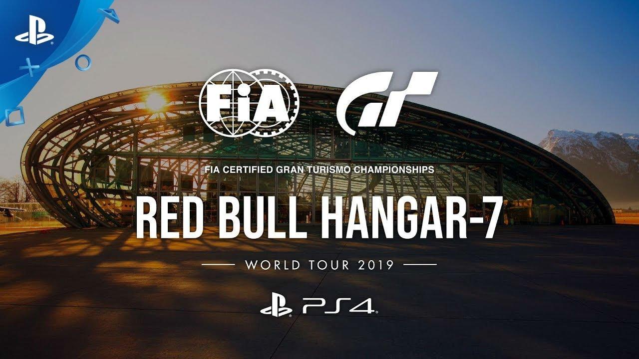 GT Sport | 2019 World Tour – Red Bull Hangar-7 – 13 et 14 septembre | PS4