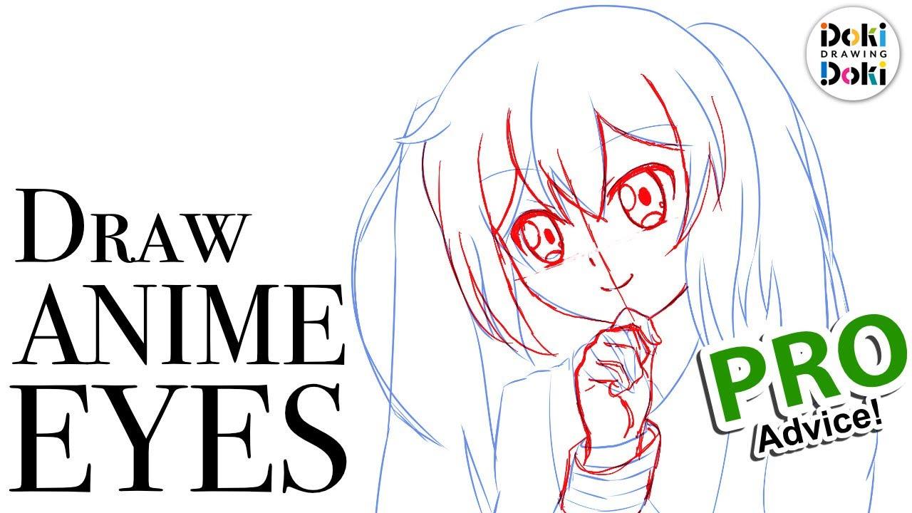 Anime Eyes At An Angle Japanese Pro Advice Youtube