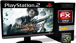 PCSX2 VS AMD FX8320 8 cores - Medal of Honor: Vanguard (Gameplay) OpenGL #1