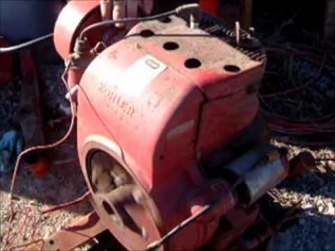 Kohler 16 hp engine off a wheelhorse d160 for sale on ebay - YouTube
