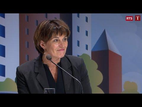 L'intervention de Doris Leuthard au Forum des 100