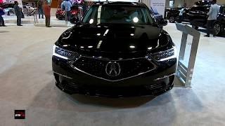 2019 Acura RLX Sport Hybrid SH-AWD Exterior and Interior Walkaround - 2018 OC Auto Show